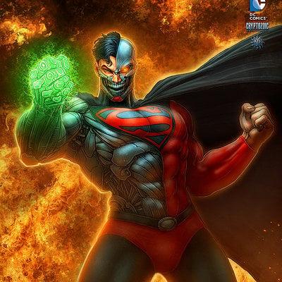Kerem beyit dc cyborg superman