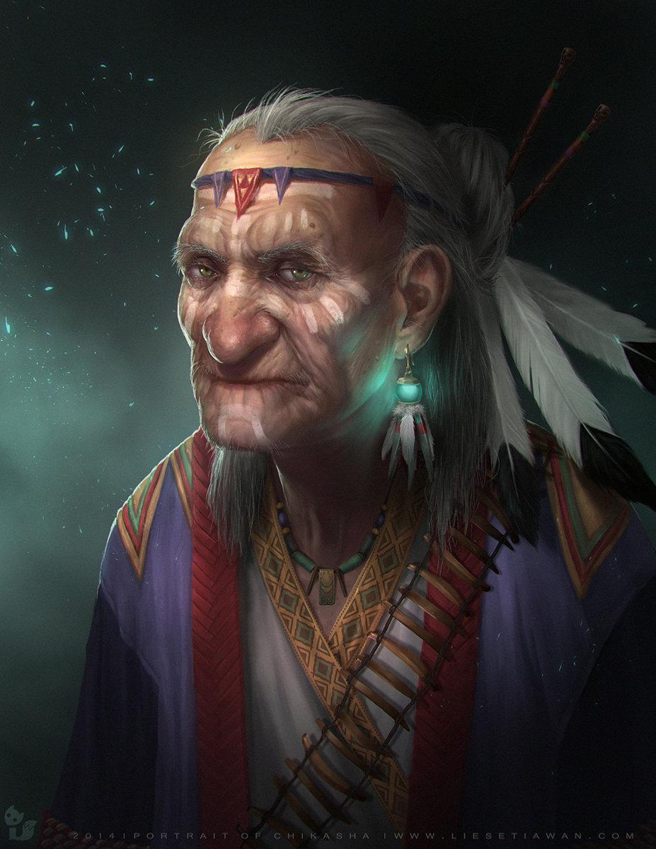 portrait of chikasha