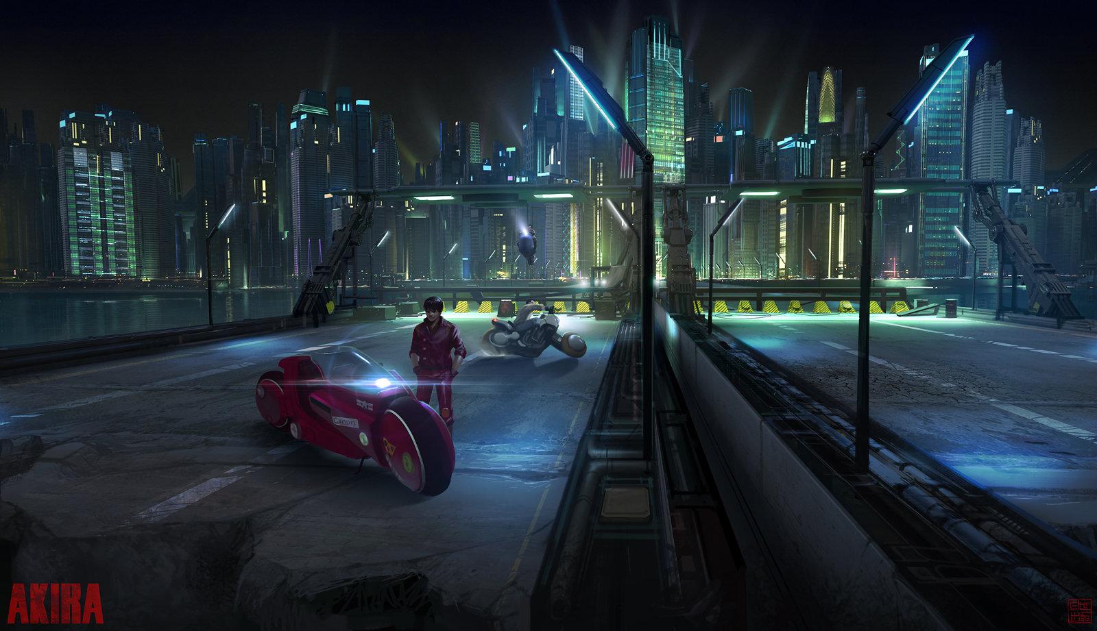 Artstation Akira Highway Concept Lorenz Hideyoshi Ruwwe