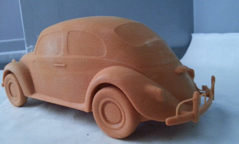 Maurizio barabani volkswagen beetle 3d model print 01
