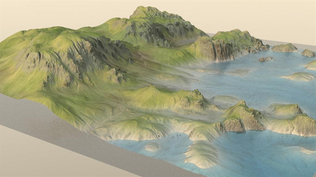 Timothy Klanderud - Coastal Terrain