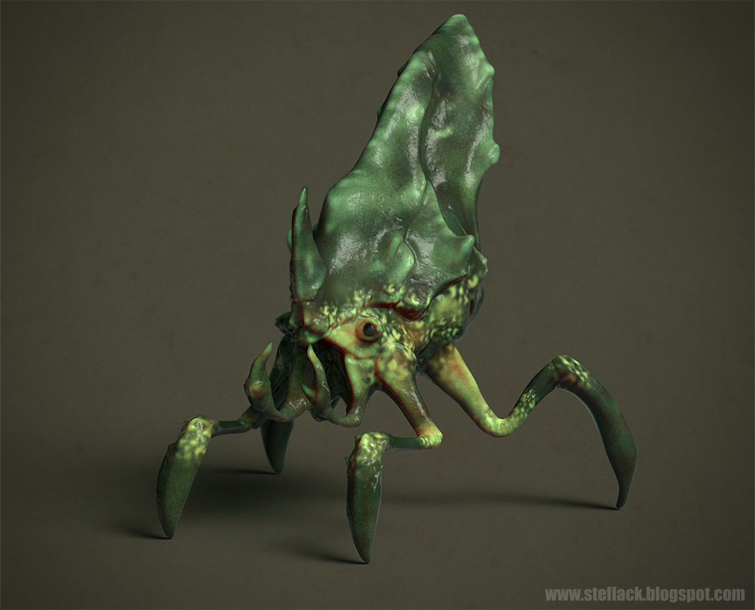 Ste flack creature08