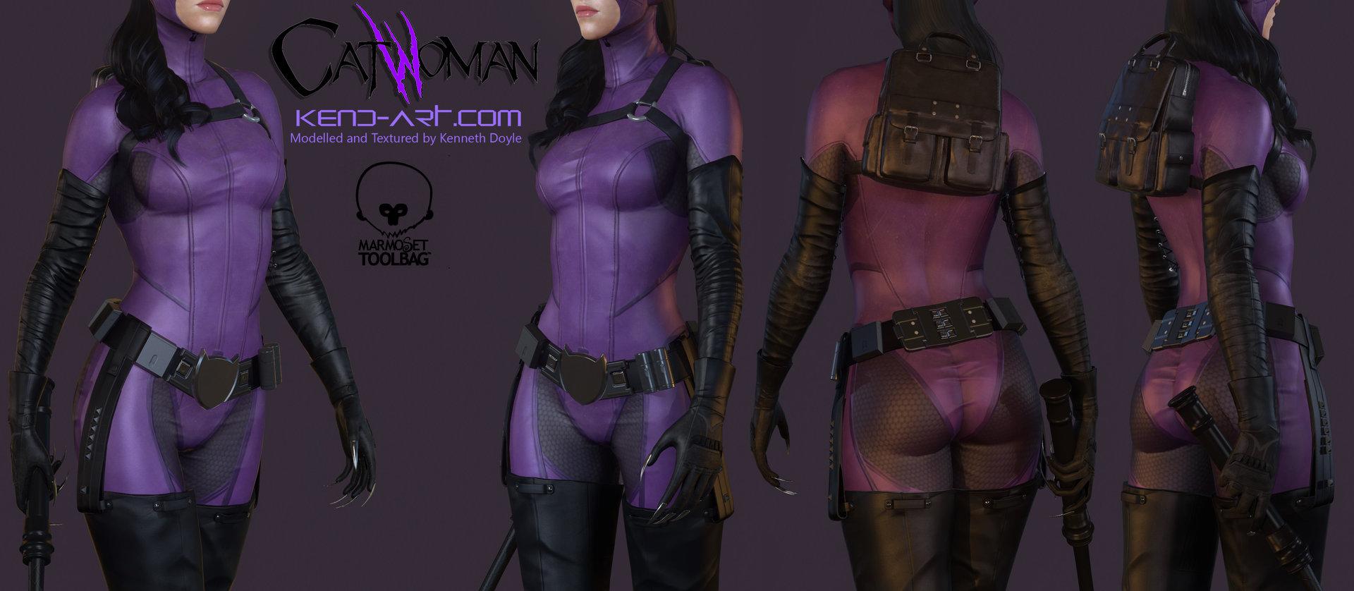 Kenneth doyle catwoman5