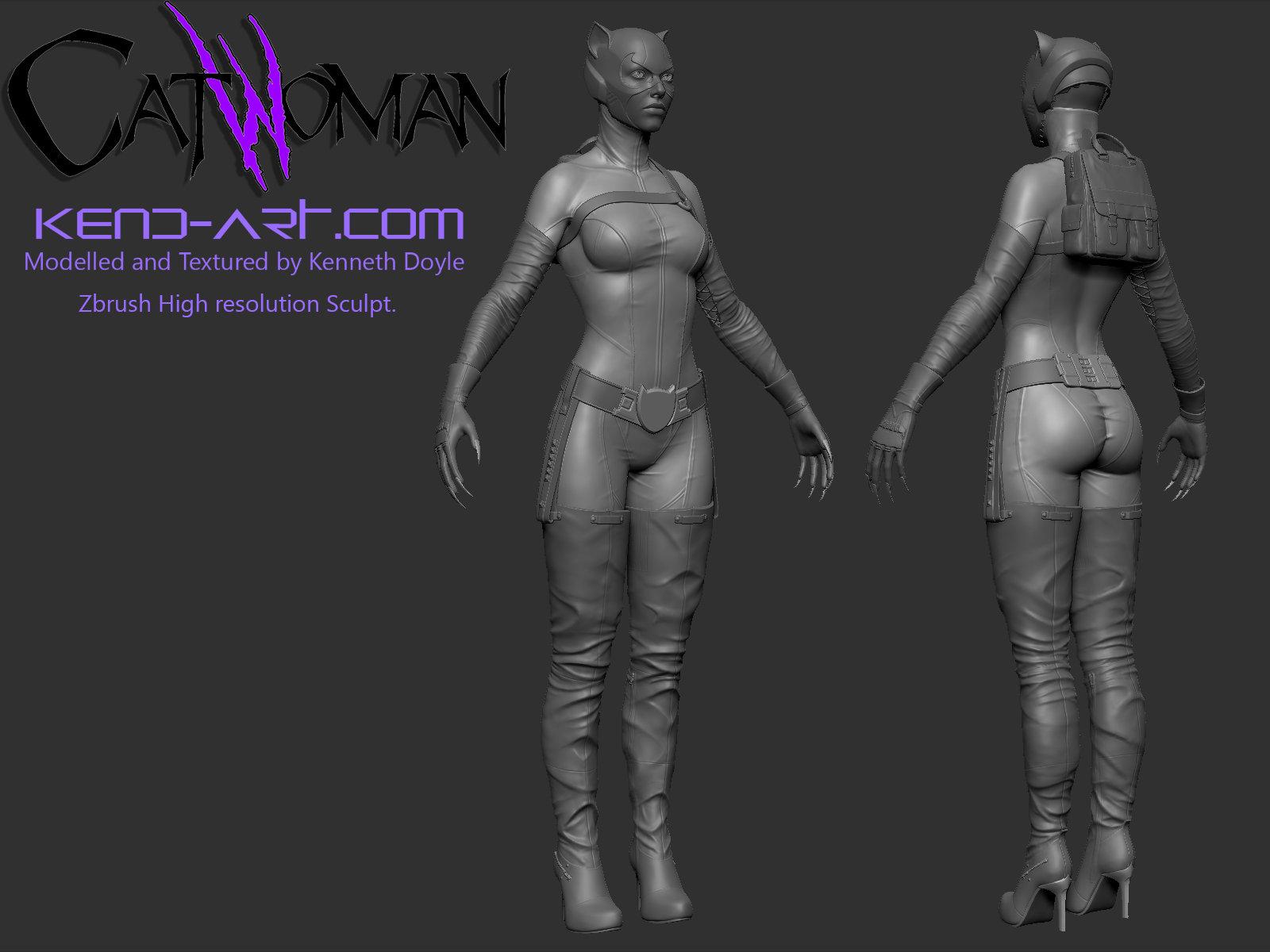 Kenneth doyle catwoman7