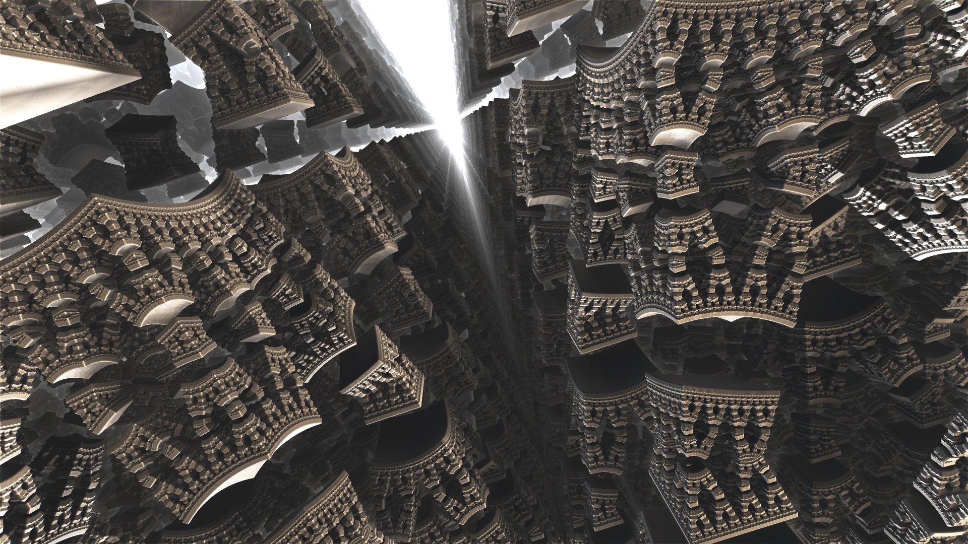 ArtStation - Fractal Geometry, Alexander Sploshnov
