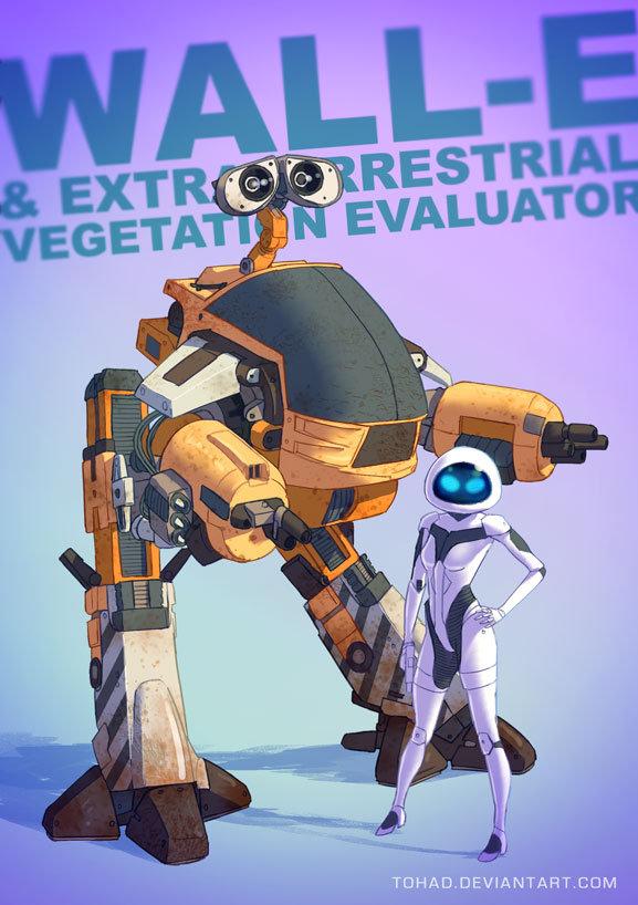 Wall-E Badass