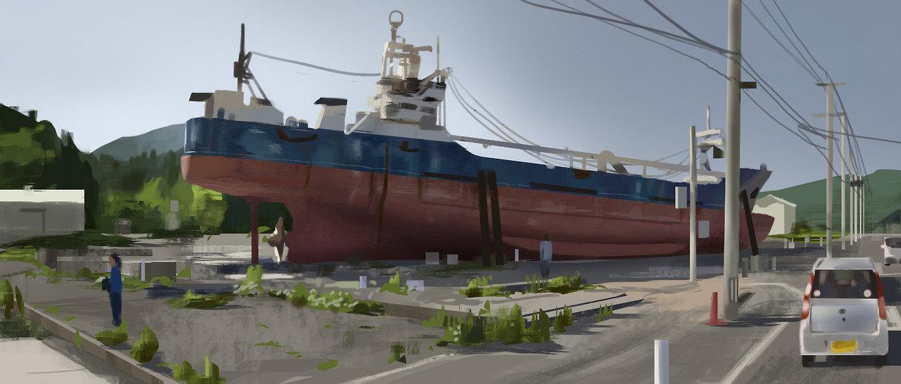 Fukushima 01 - Virtual Plein Air