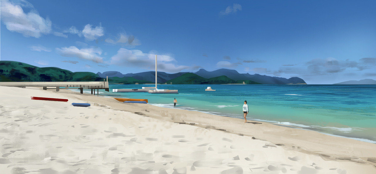 Okinawa - Virtual Plein Air 01