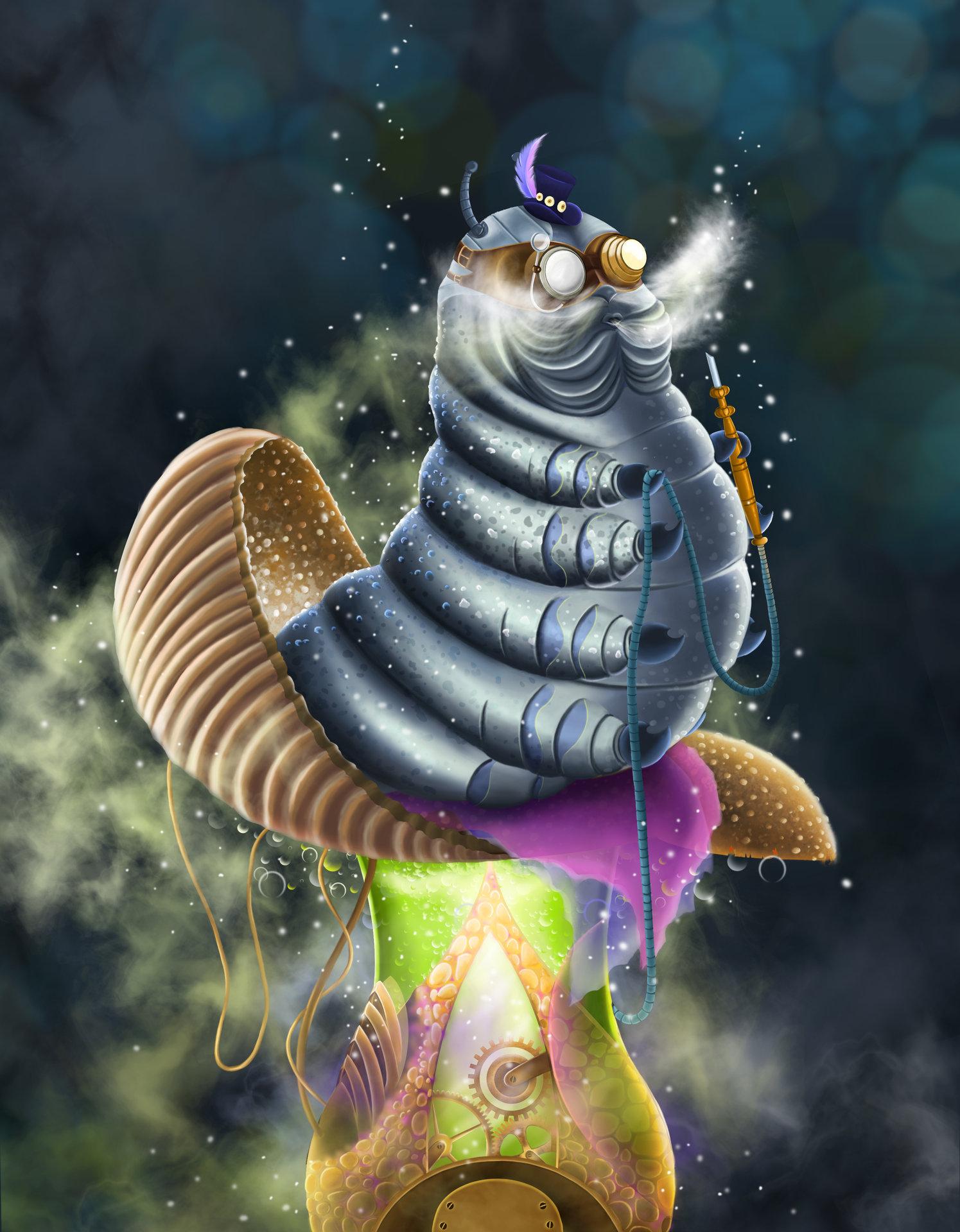 Natalia pribytkova caterpillar