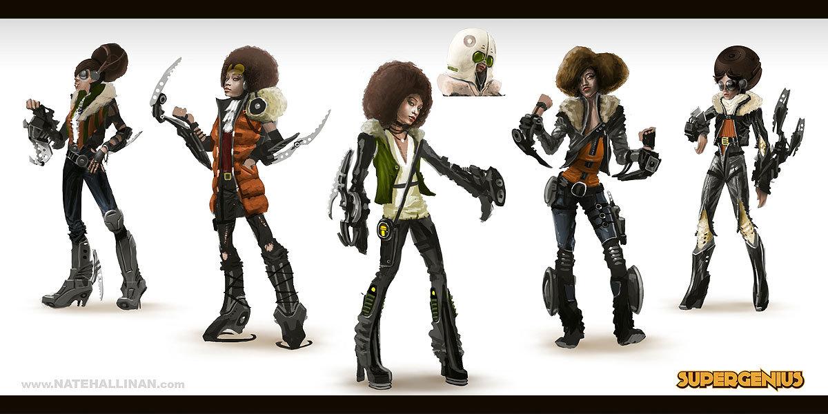 Character Concepts - Sue Seth