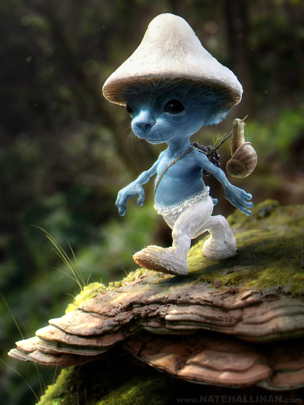 Smurf Sighting