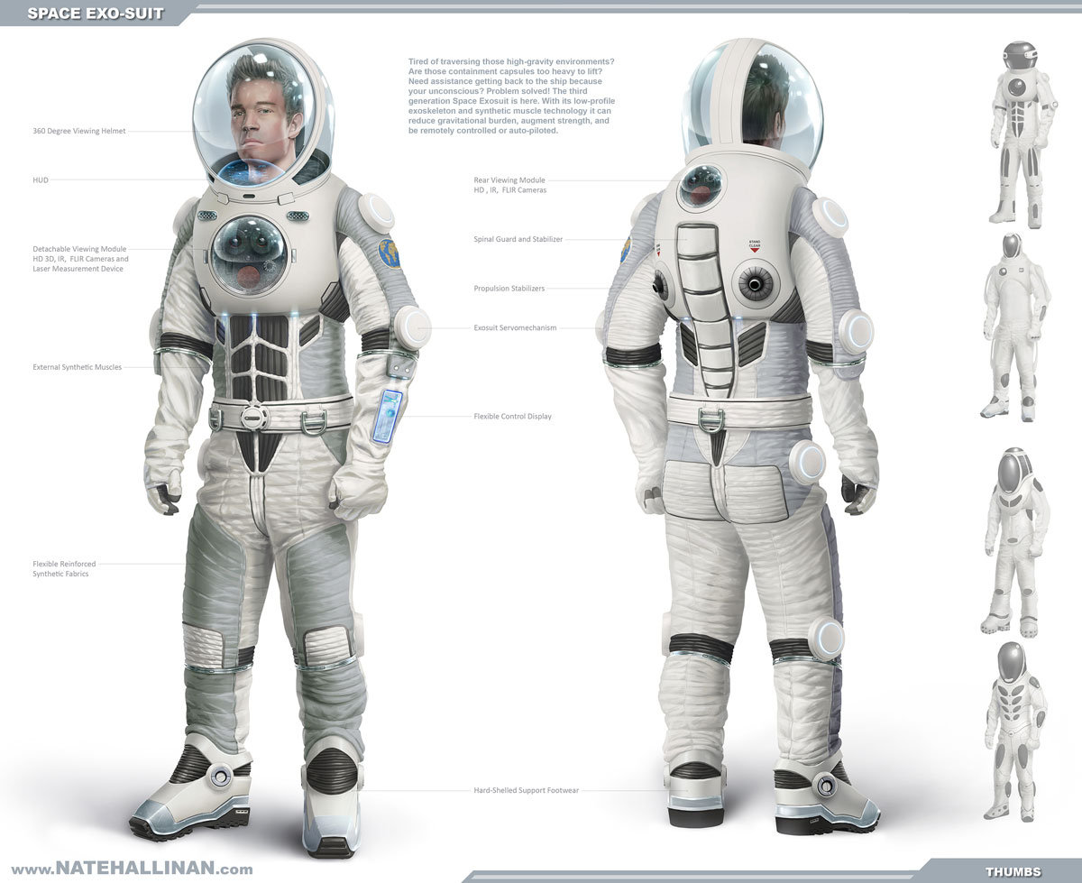 Space Exosuit concept