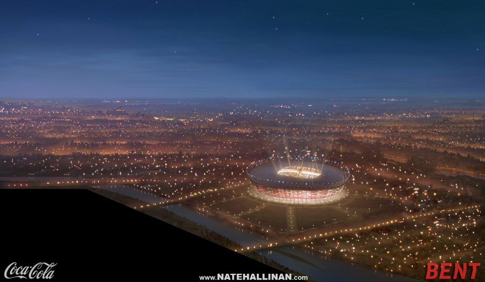 Spirit of the Euro Coca-Cola Commercial - Stadium 2 Aerial