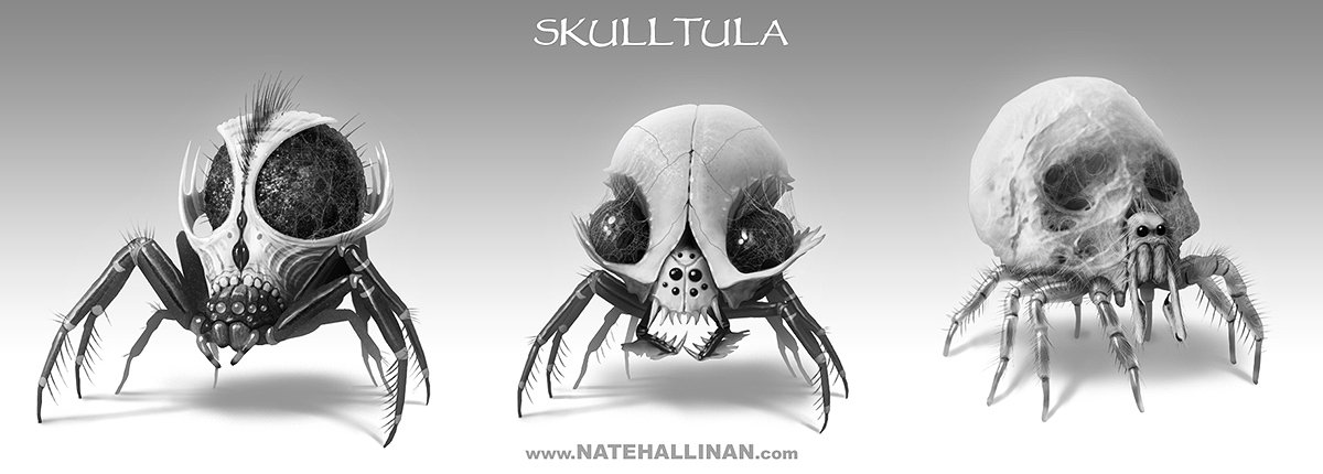 Skulltula rough concepts