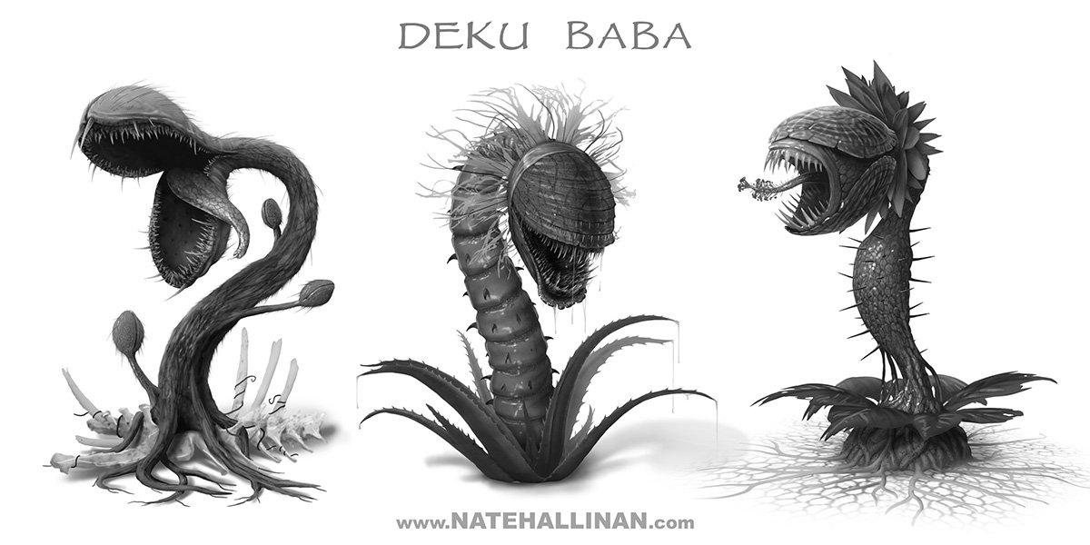 Nate hallinan deku baba concepts by natehallinanart d73osgo
