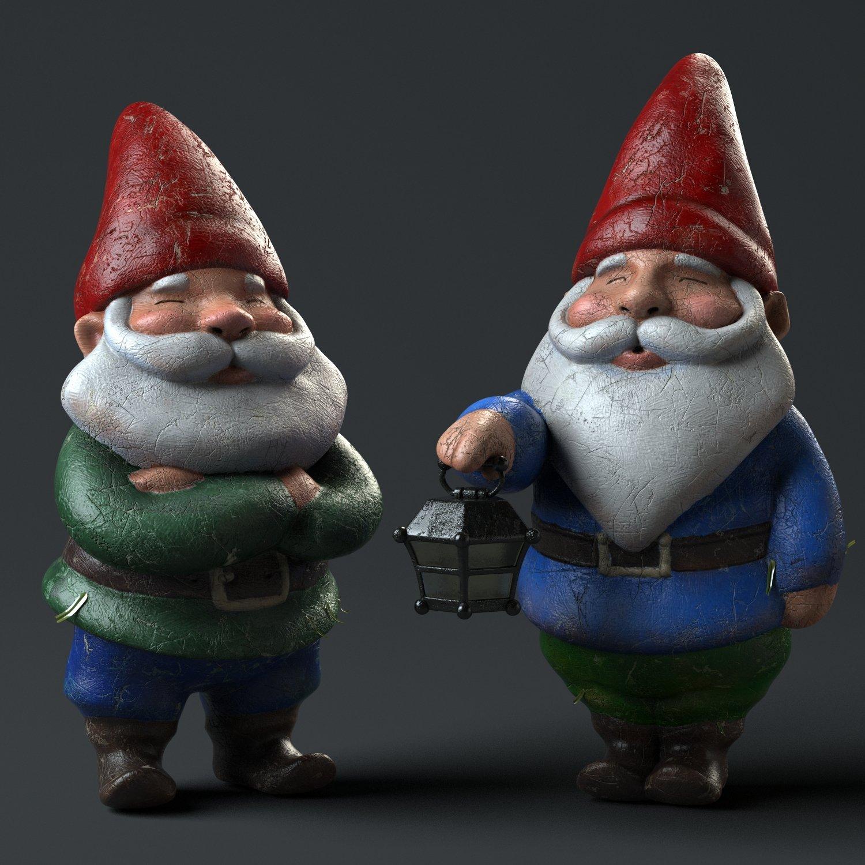 Gnomes Render