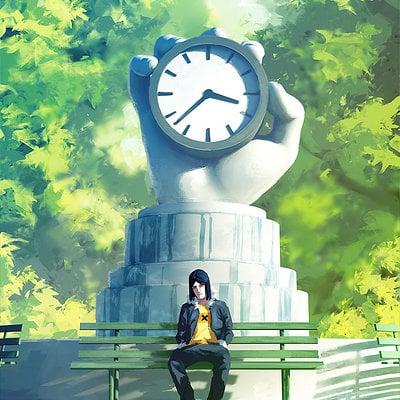 Sylvain sarrailh clock