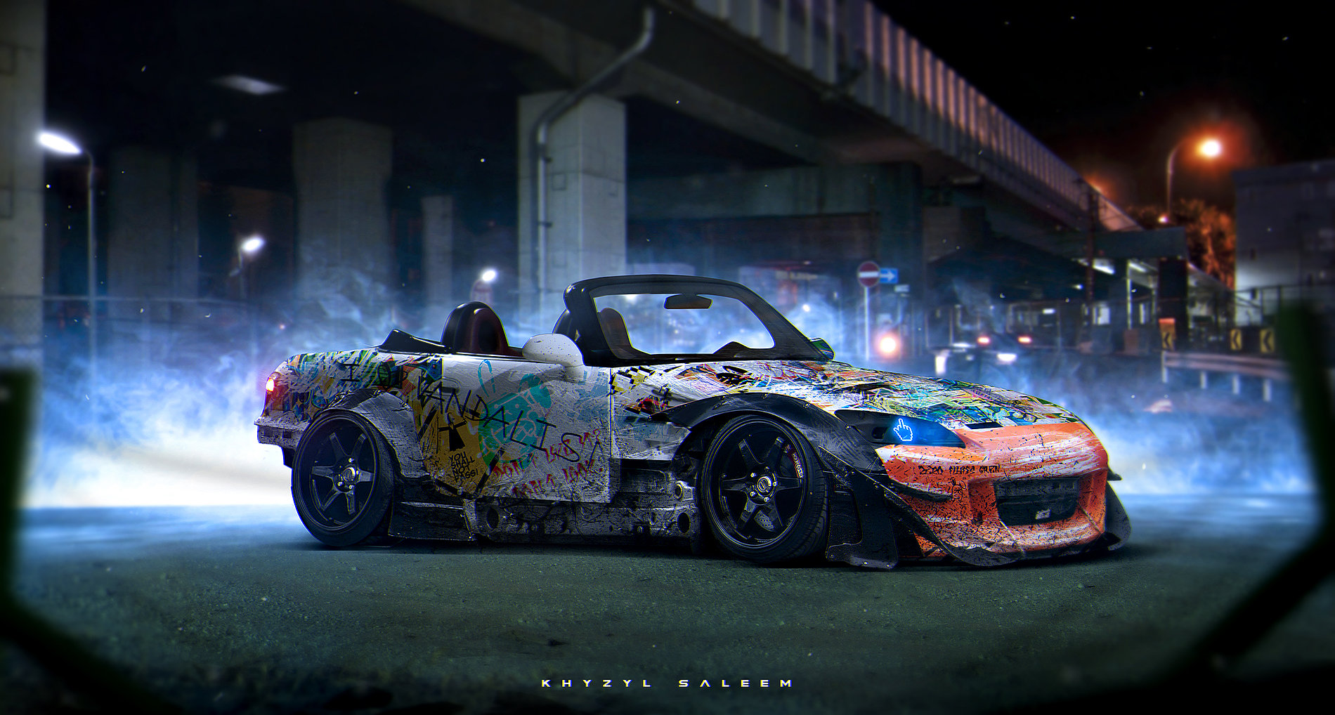 240sx Fairlady >> ArtStation - Zero Fluffs Given, Khyzyl Saleem