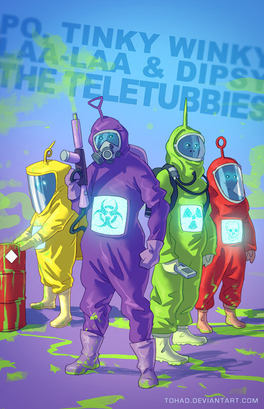 Badass Teletubbies