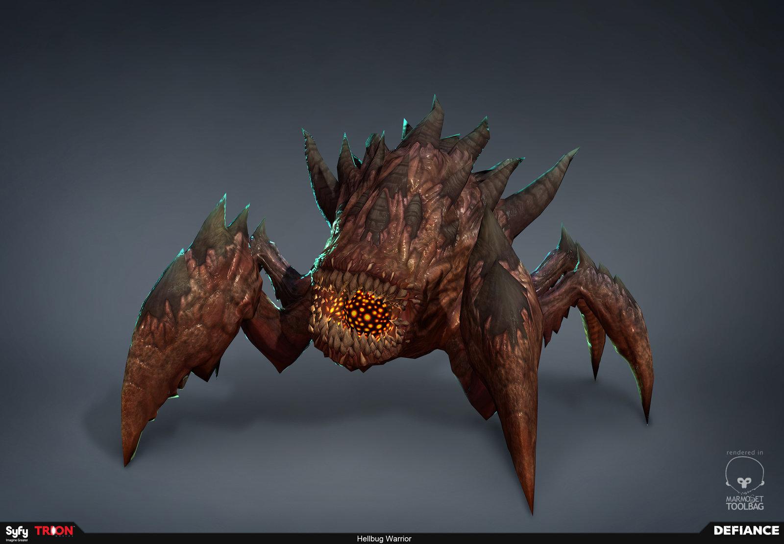 Defiance - Hellbug Warrior
