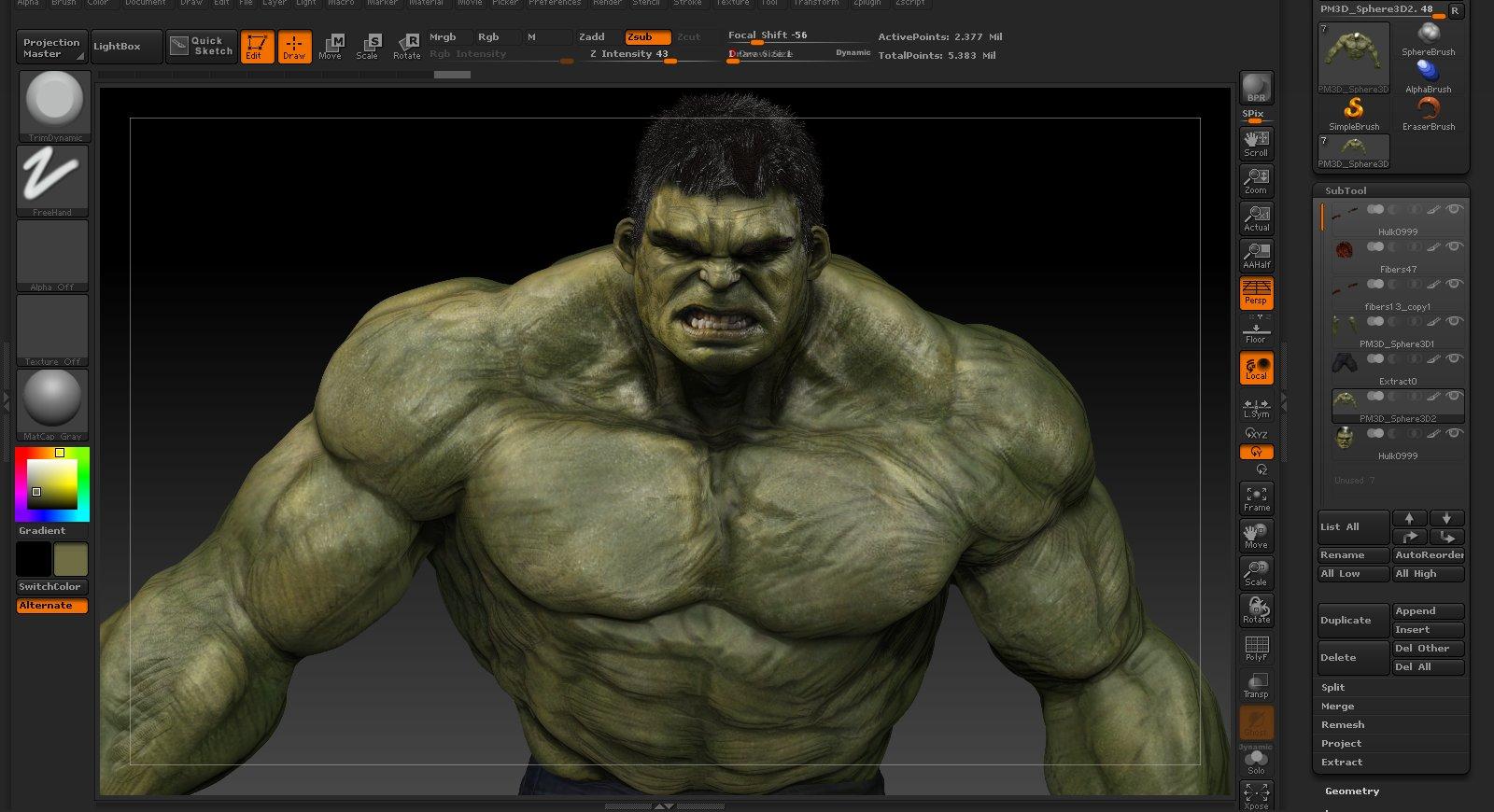 Hulk : WIP
