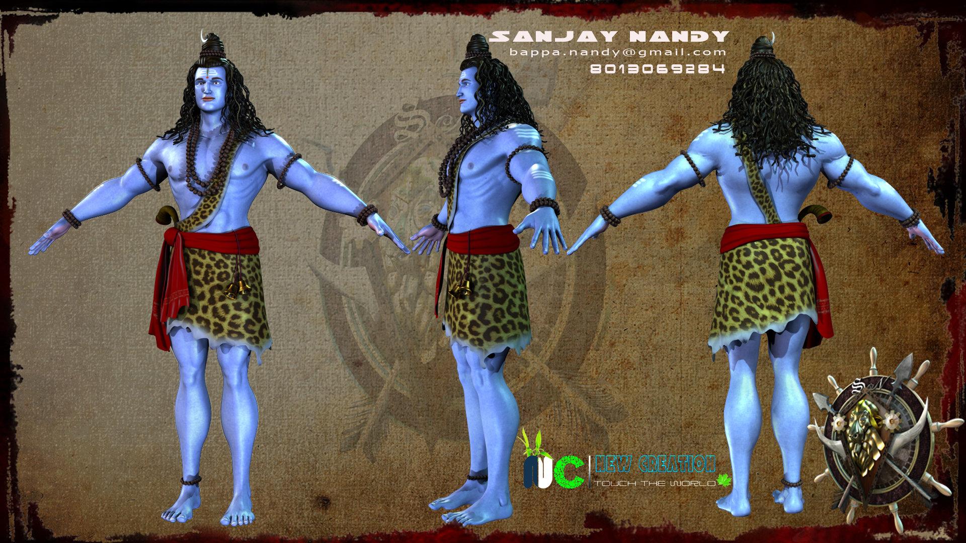 ArtStation - lord shiva, Sanjay Nandy