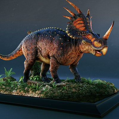Riyad hasan styracosaurus 2
