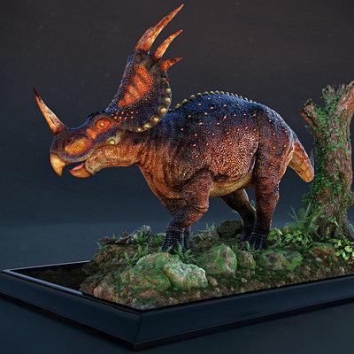 Riyad hasan styracosaurus 1