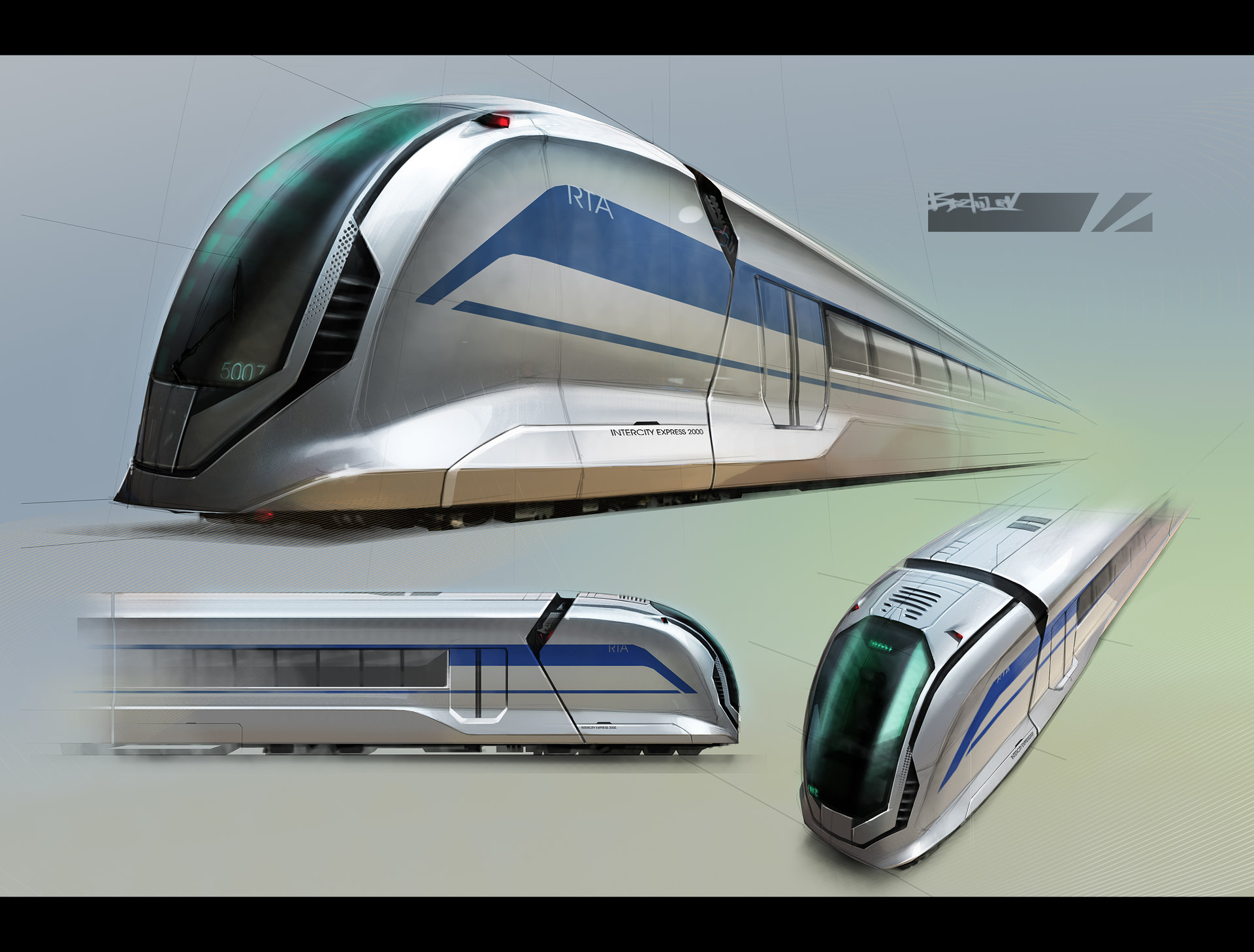 ArtStation - Design proposal for the future Dubai subway ...
