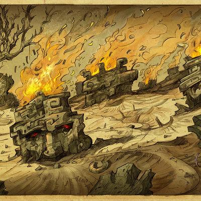 Sabin boykinov hell burning heads field copy