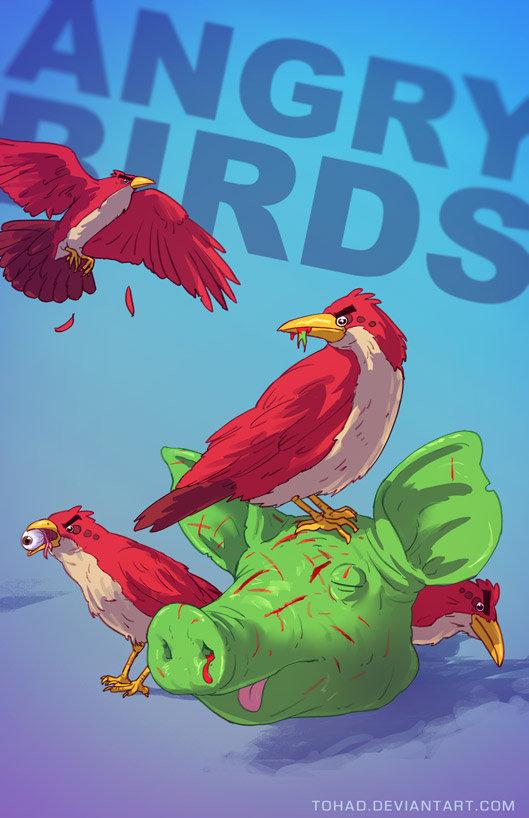 Sylvain sarrailh angrybirds