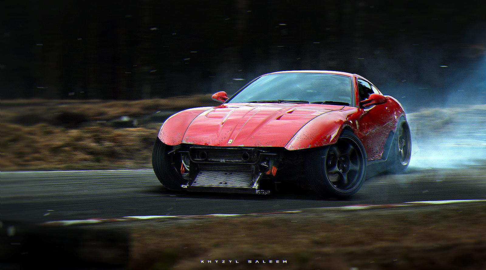 Missile Ferrari 599