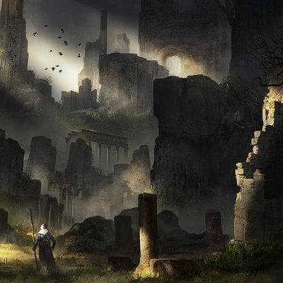 Florent llamas ruins cg