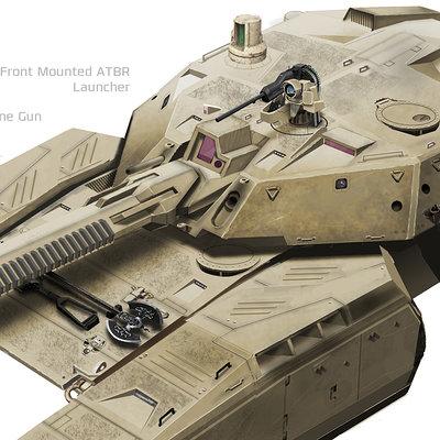 Simon ko mbt tank v008