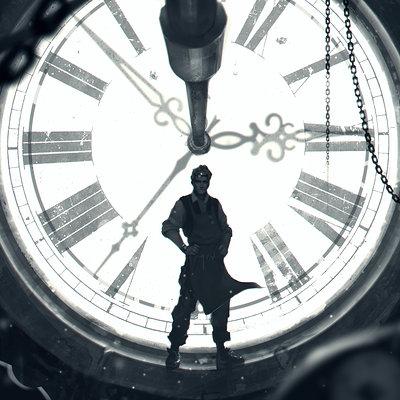 Denys tsiperko clock