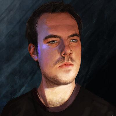 Thomas bignon autoportrait