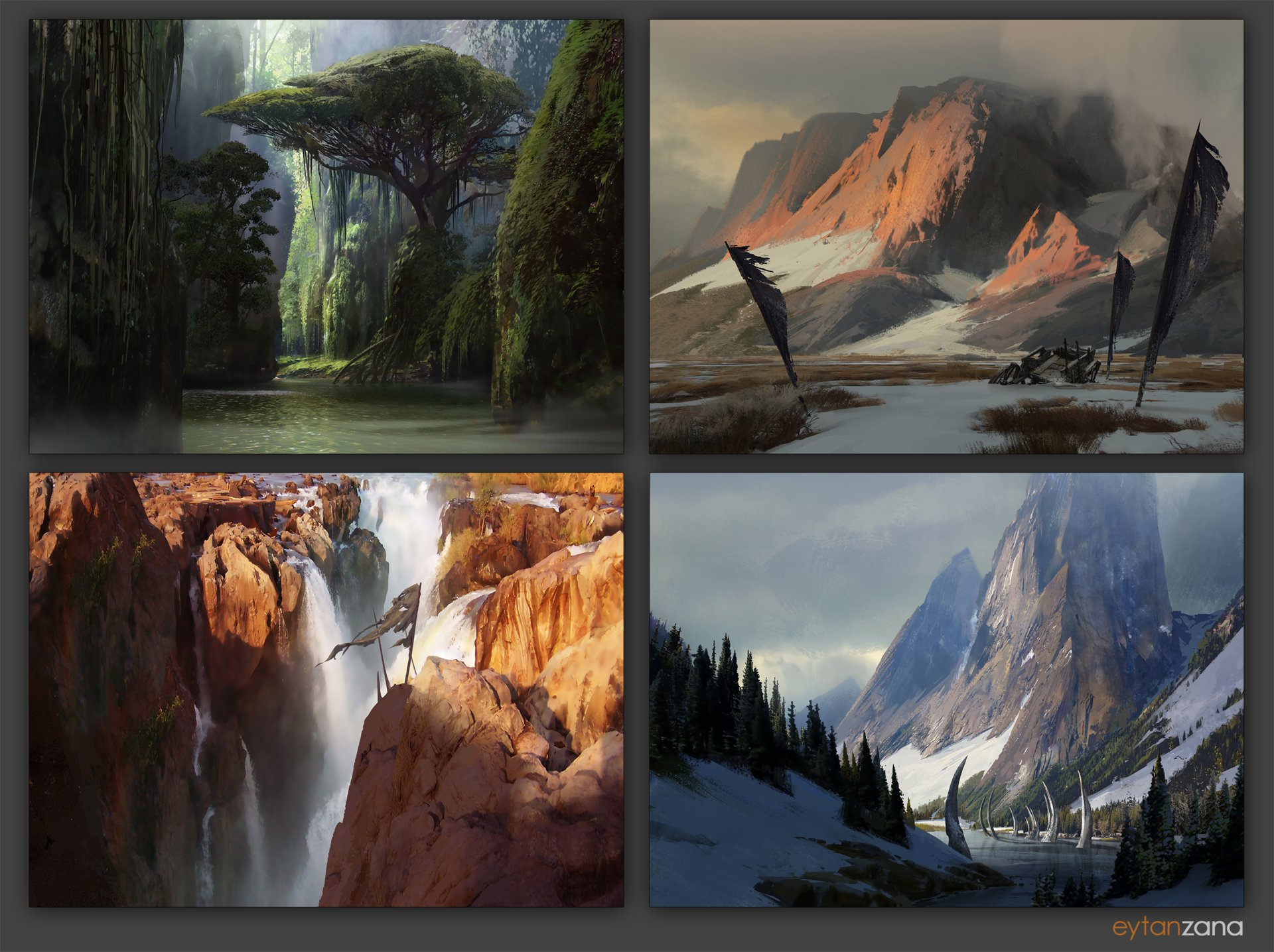 Download 7000 Background Environment Art HD Terbaru