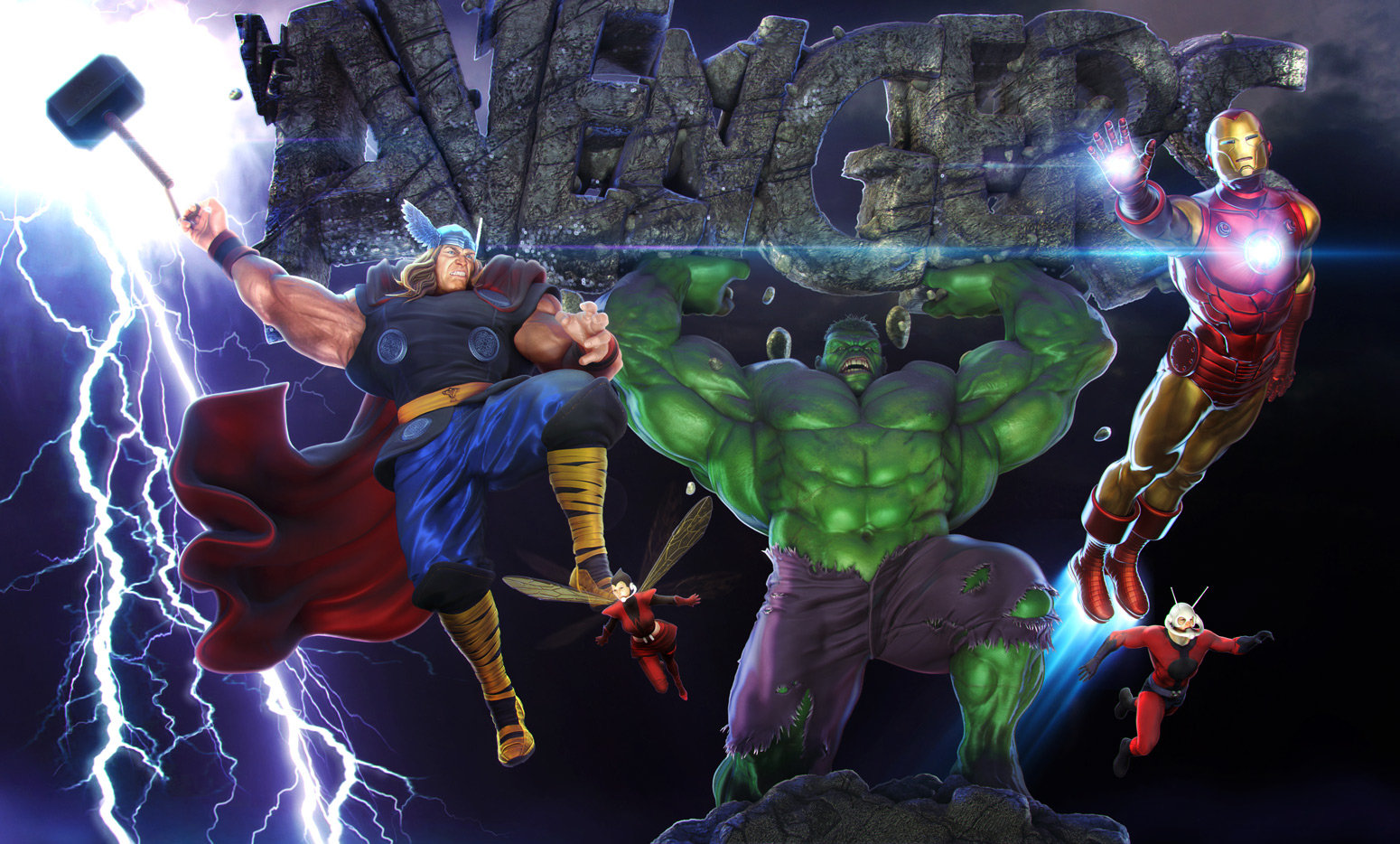 J mark avengers assembled500k