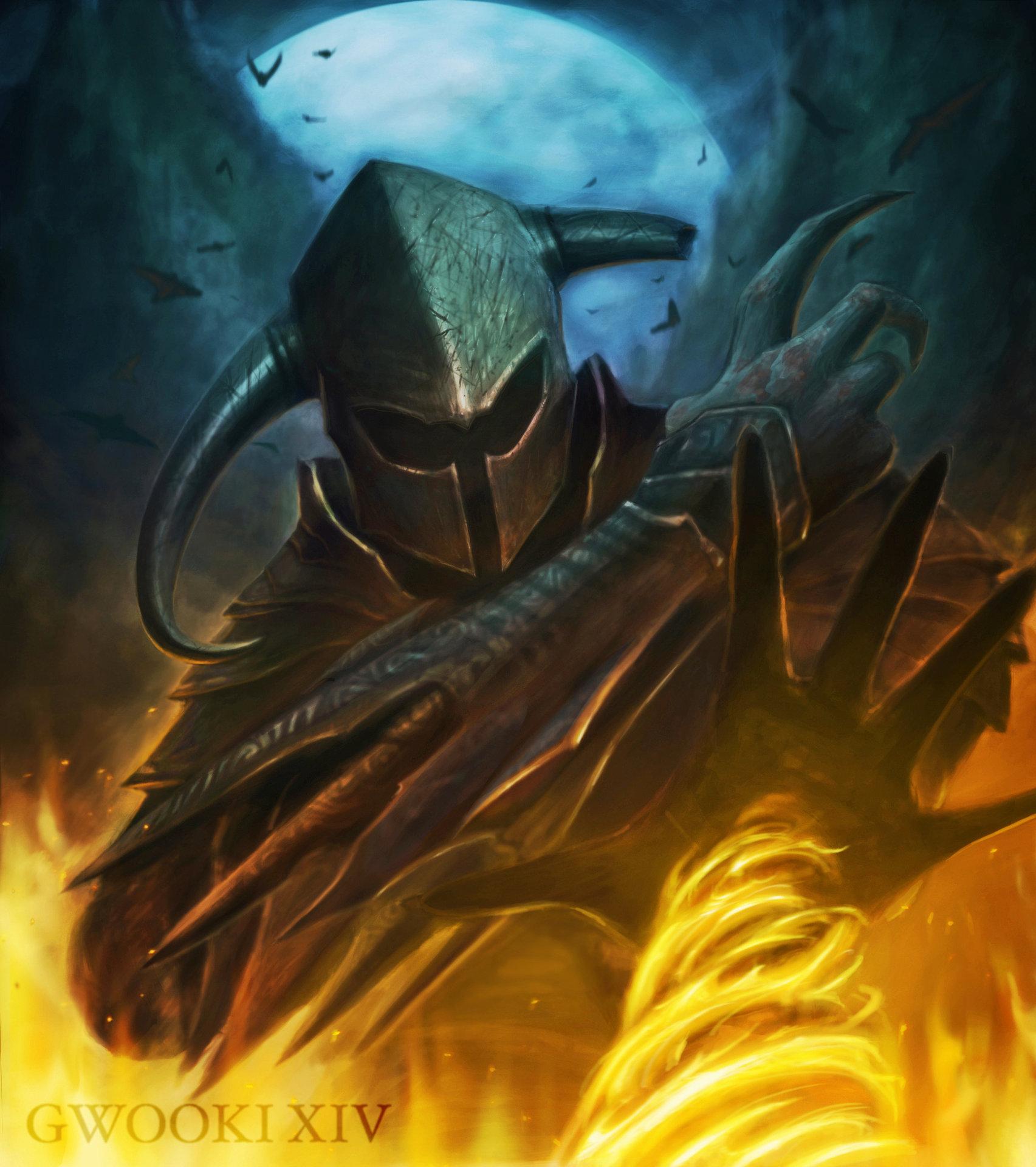 gwooki knight with elemental powers