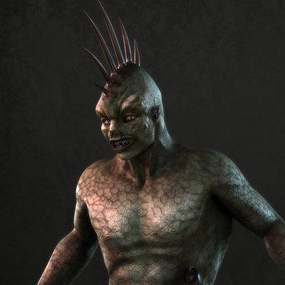 Sascha kozacenko warrior posed by sash4all