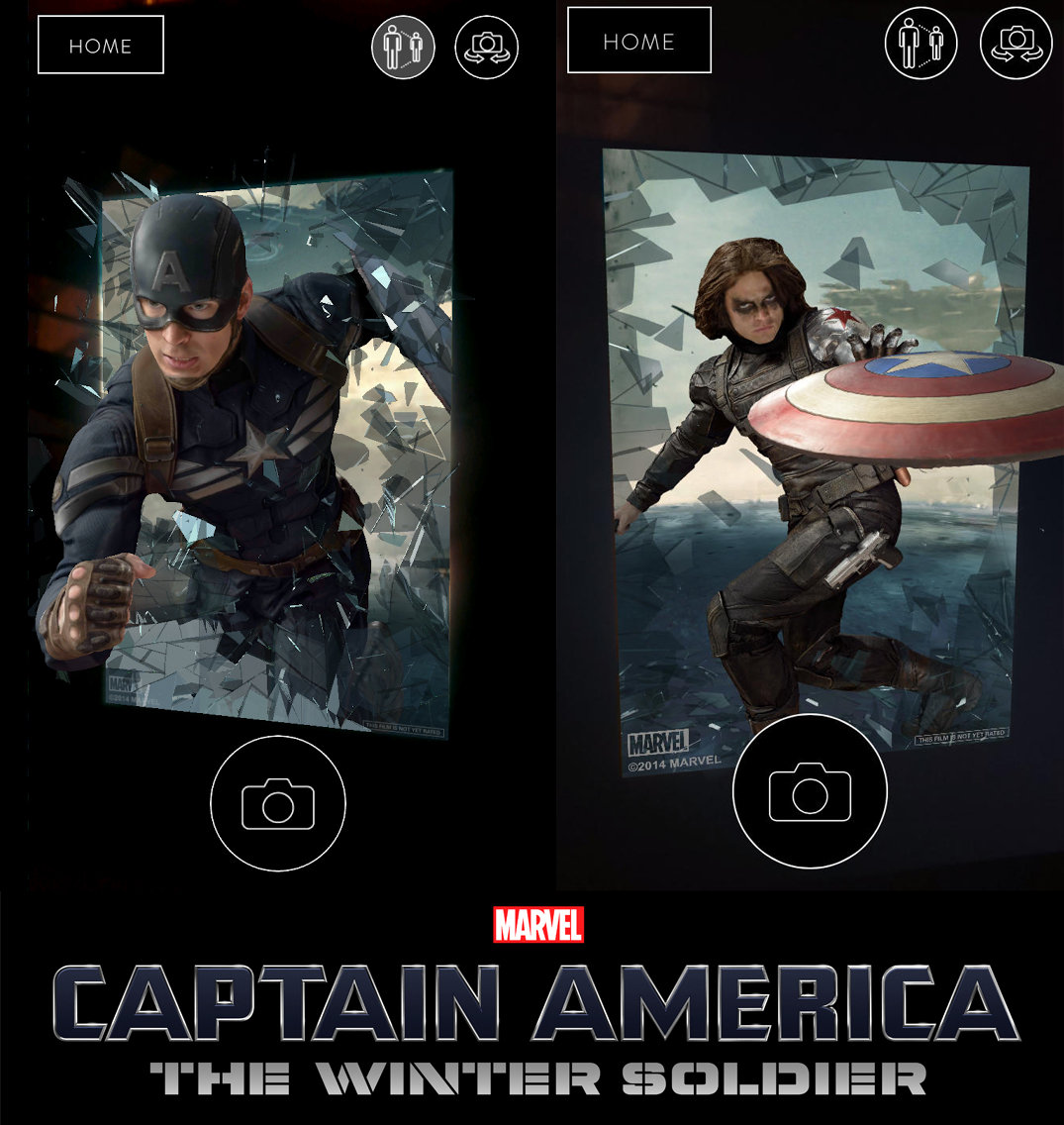 The Captain America experience