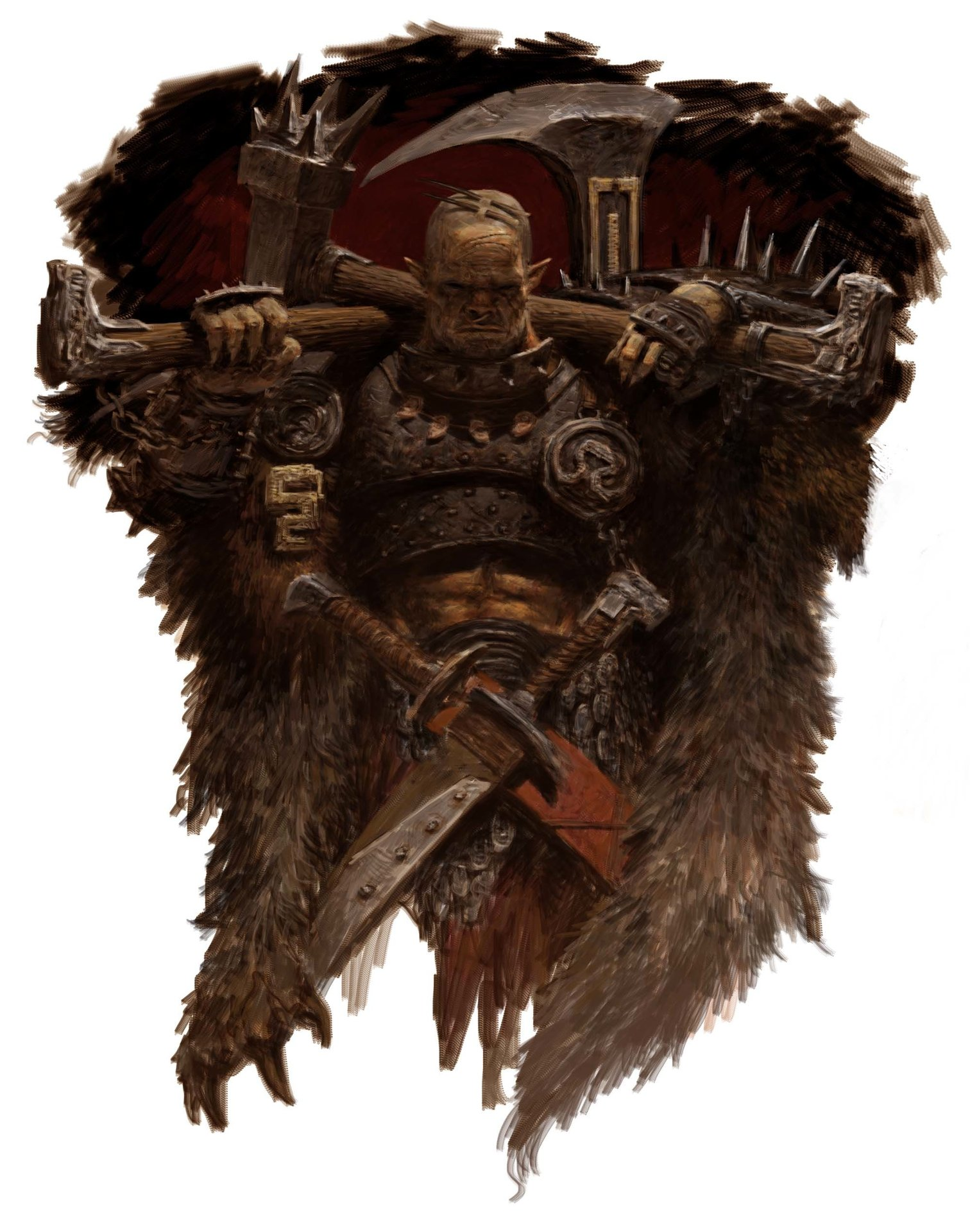 Adrian smith wildman orc hero