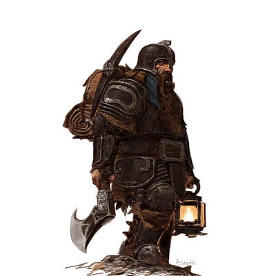 Adrian smith fw dwarf warrior sapper