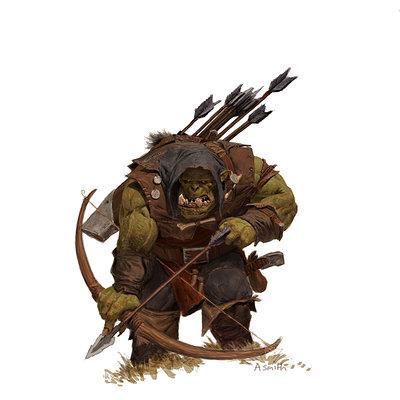 Adrian smith fw orc arrerboy