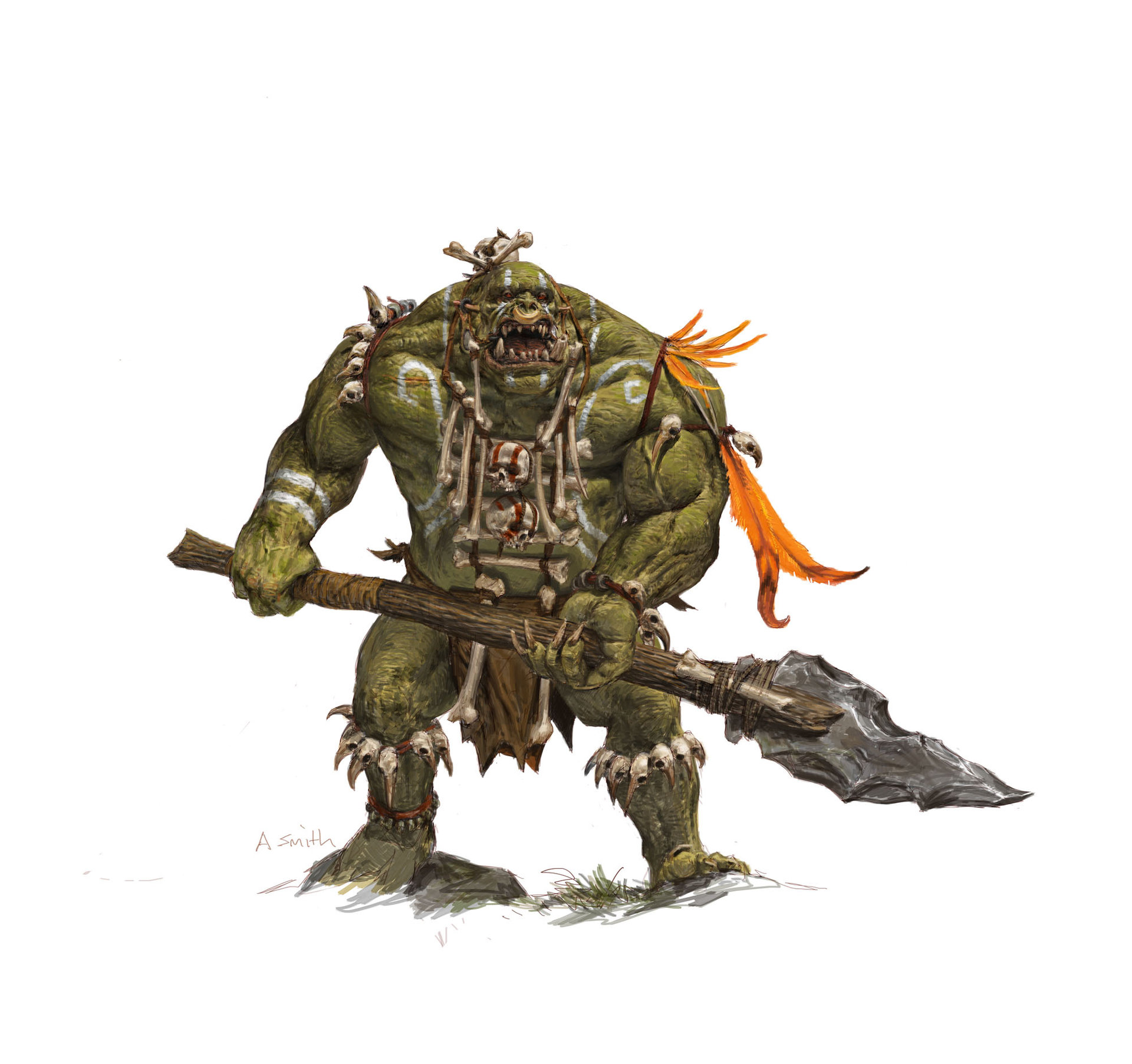 Adrian smith fw savage orc warrior