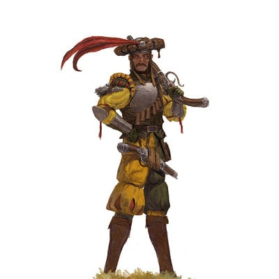 Adrian smith fw stirland marksman