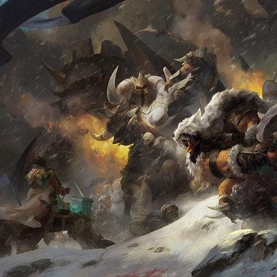 Kan liu 666k rise of the frostwolf clan 1680