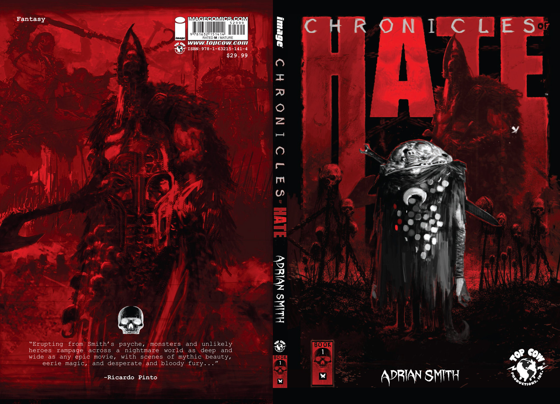 Adrian smith chroniclesofhate cover proof