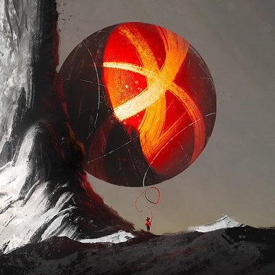 Christopher balaskas red balloon 1920