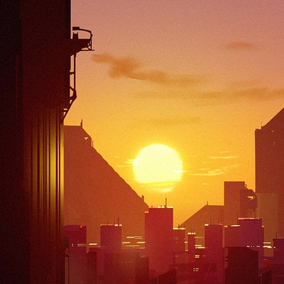 Lorenz hideyoshi ruwwe city sunset2